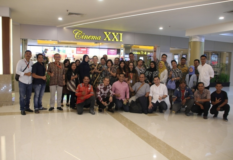Cinema XXI is now opening at Panbil Mall